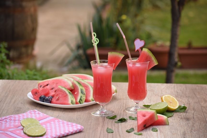 WATERMELON STRAWBERRY REFRESHER