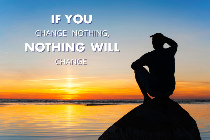 THE SECRET TO MAKING CHANGES!
