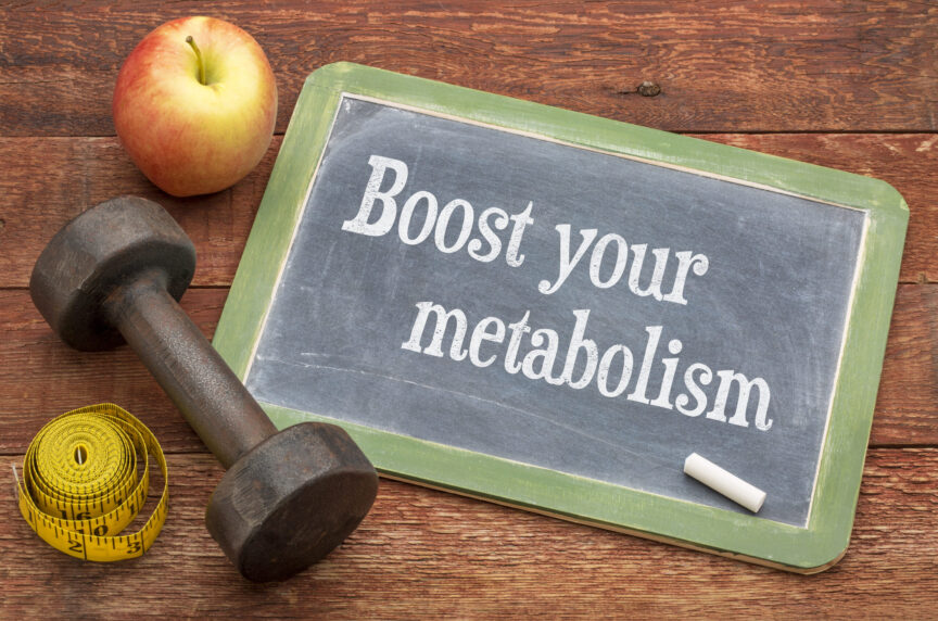 FOUR WAYS TO FIRE UP YOUR METABOLISM