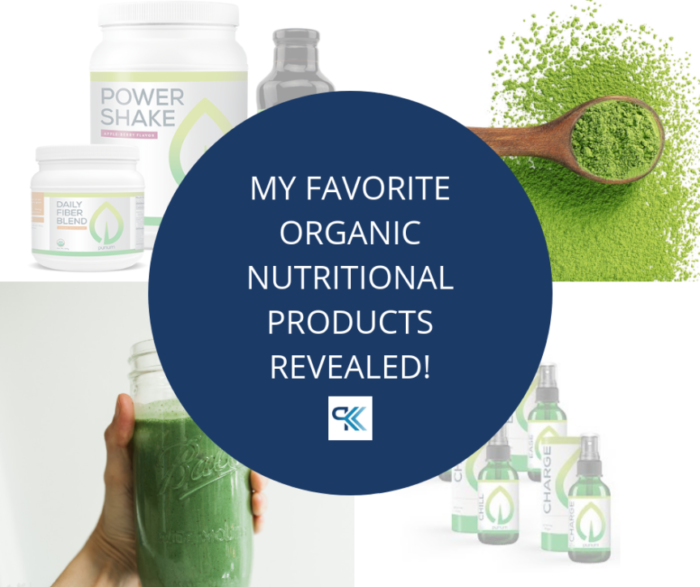 MY FAVORITE NUTRITIONAL PRODUCTS