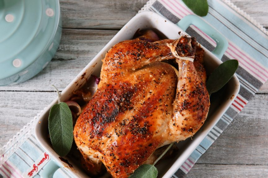 PERFECTLY ROASTED CHICKEN