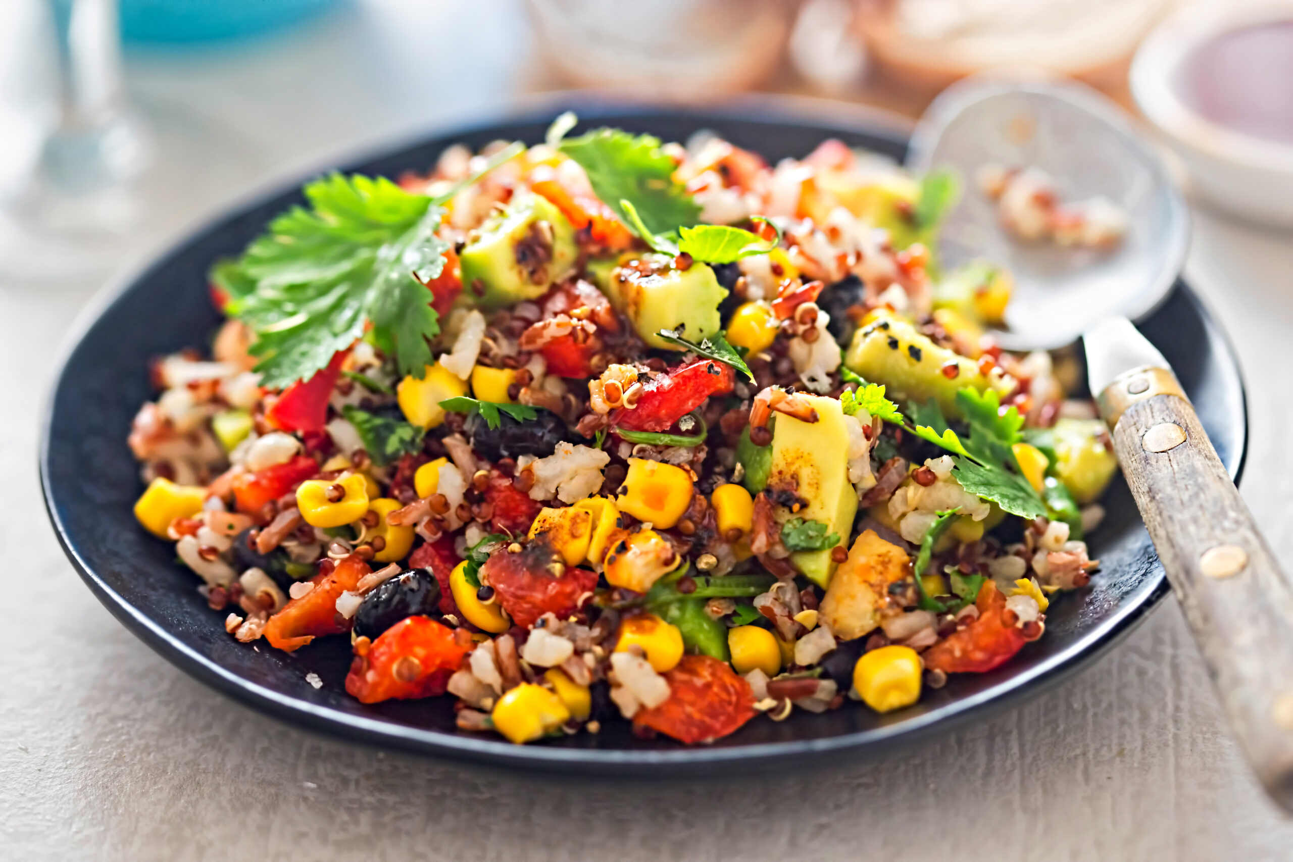 BEST EVER QUINOA SALAD