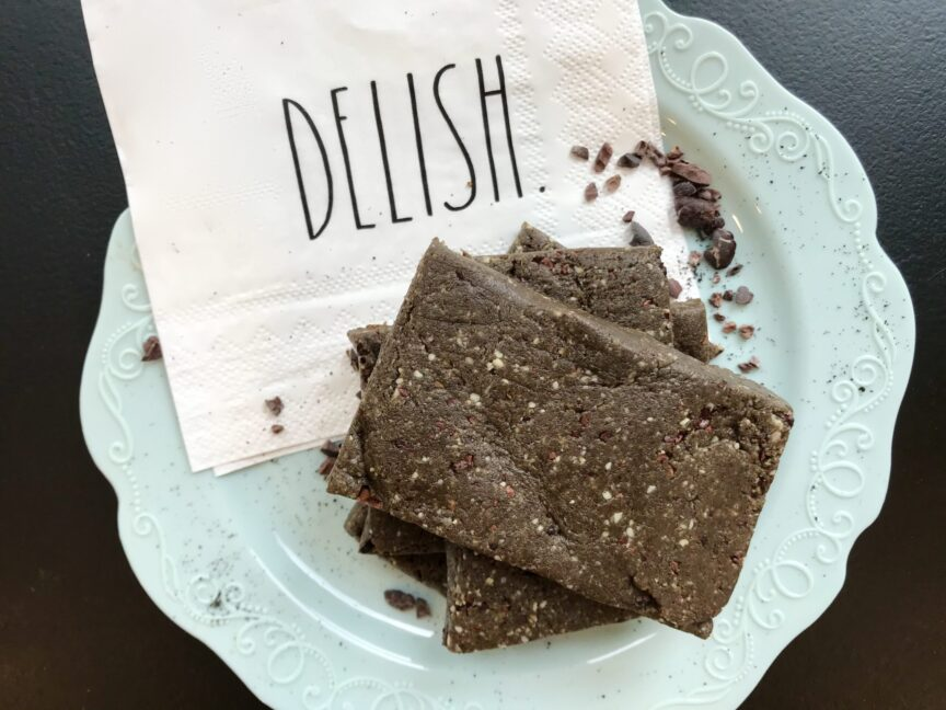 CHOCOLATE COFFEE PROTEIN RX BARS