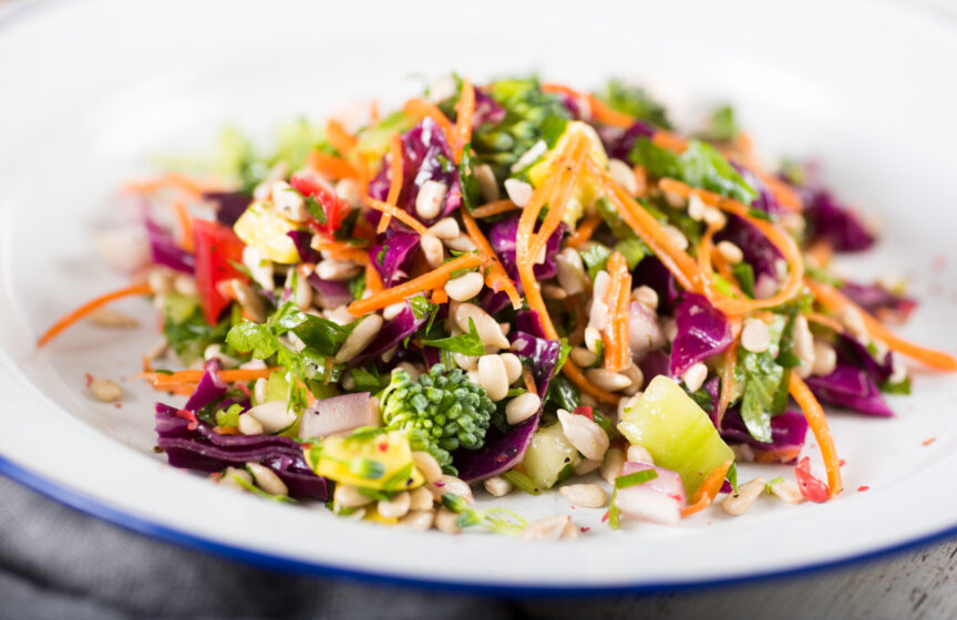 HOW TO MAKE THE PERFECT CHOPPED SALAD