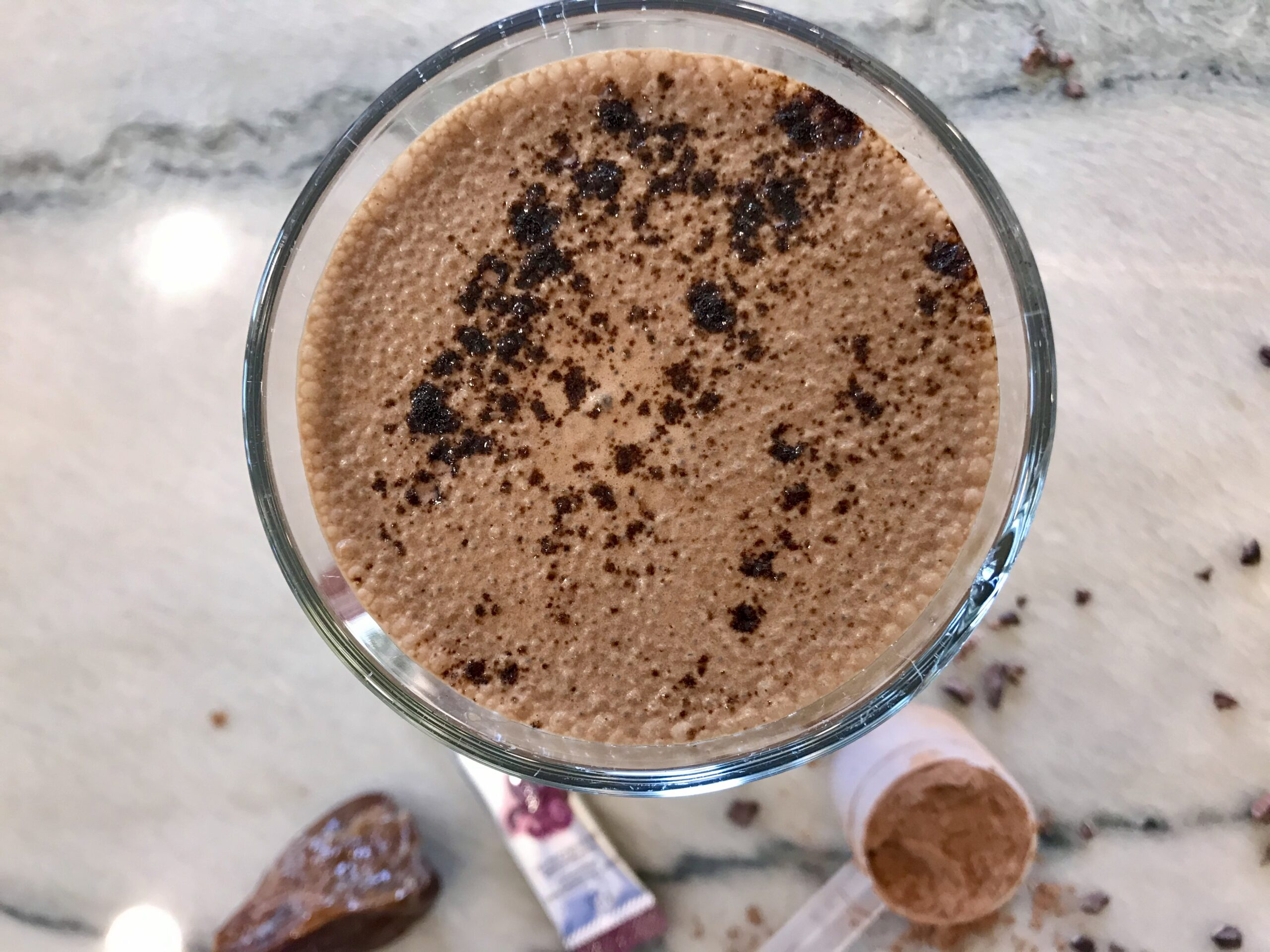 CHOCOLATE COFFEE PROTEIN SHAKE