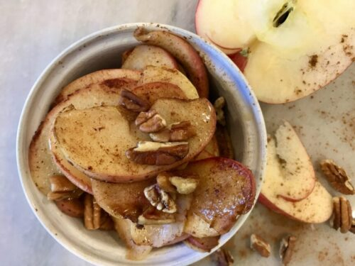 EASY AND HEALTHY APPLE PIE