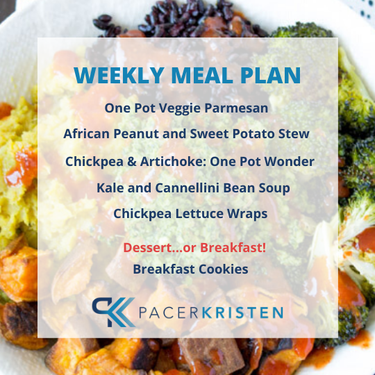 QUARANTINE PLANT BASED MEAL PLAN