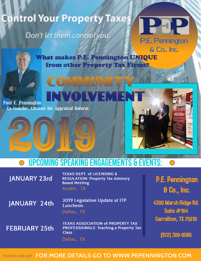 News P E  Pennington & Co, Inc  Property Tax Consultants