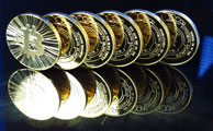 Thumbnail stack of bitcoins