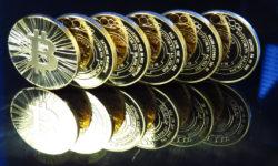 Thumbnail stack of bitcoins