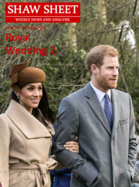 Cover Image Royal Wedding 2 for Issue 154 17 May 2018