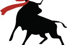 Bull silhoette