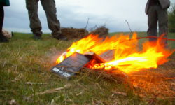 Books being burnt
