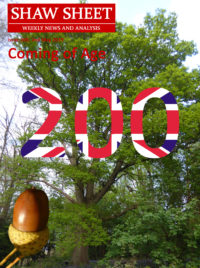 Cover Page an acorn and a mature oak tree with 0 on the acorn and 200 on the oak