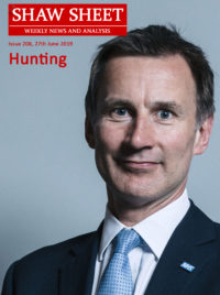 Portrait of Jeremy Hunt, Leadership Candidate, Conservative Party of the UK