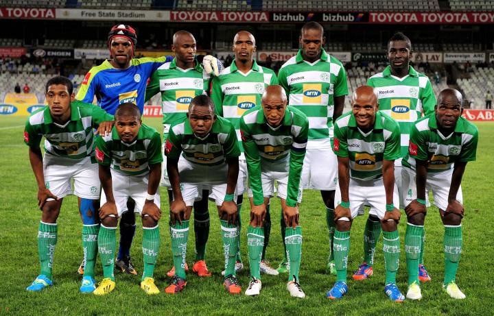 Football - ABSA Premiership 2012/13 - Bloemfontein Celtic FC. vs Black Leopards FC. - Free State Stadium