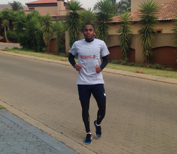 Photo of Shabalala Showing Off His Beautiful Car, Check Out Pictures Here