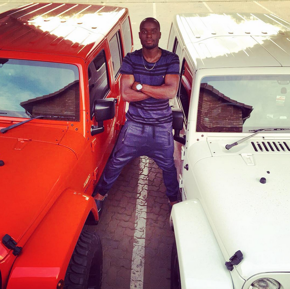 Photo of Kaizer Chiefs' Sula Matovu Shows Off His Toys