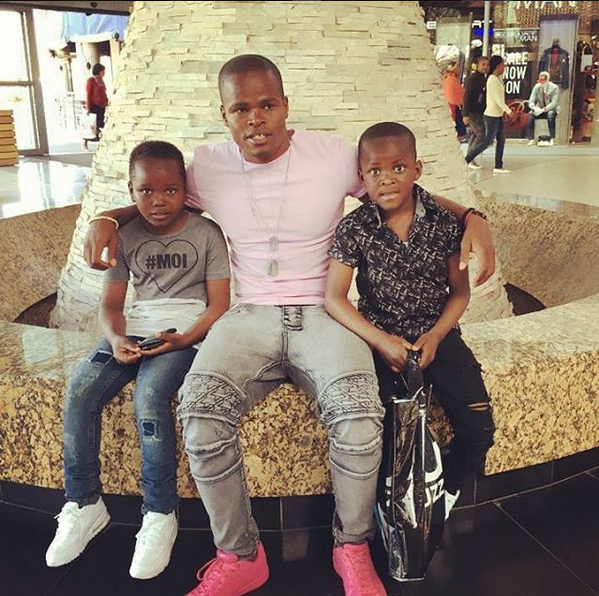 Photo of Checkout Cute Photos Of Katsande With His Two Sons