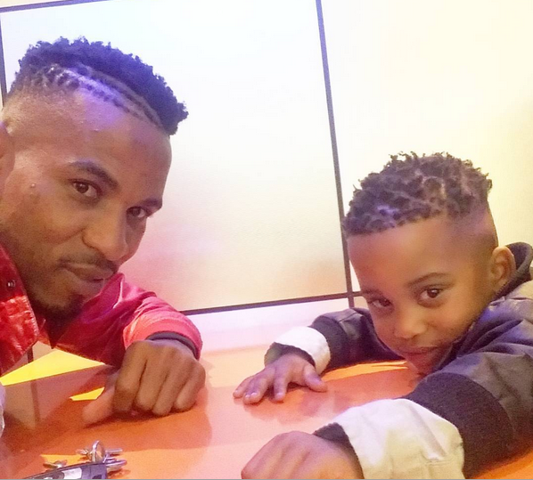 Photo of Checkout Cute Photos Of Nhlanhla Vilakazi With His Son