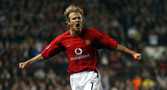 #TBT Watch David Beckham Goal from Halfway Line