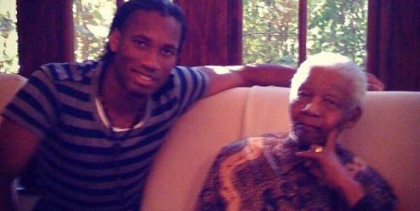 Photo of Didier Drogba Remembers Nelson Mandela