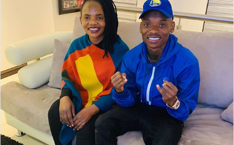 Khama Billiat Sends His Mom A Heartfelt Birthday Message