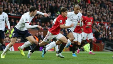 Photo of Liverpool Winning Run Halted At Old Trafford