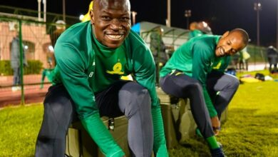 Photo of Mamelodi Sundowns Captain Hlompo Kekana Quietly Serves Caf 4-Match Ban