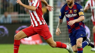 Photo of Atletico Defeat Barcelona To Set Up Spanish SuperCup Madrid Derby Final