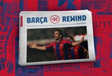 Photo of Barça Rewind: Sergi Barjuan's great sporting lesson