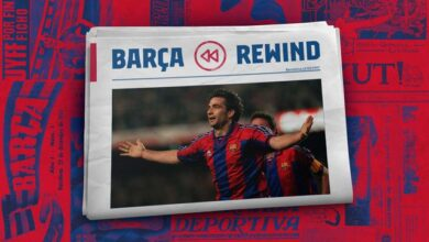 Photo of Barça Rewind: Sergi Barjuan's great sporting lesson