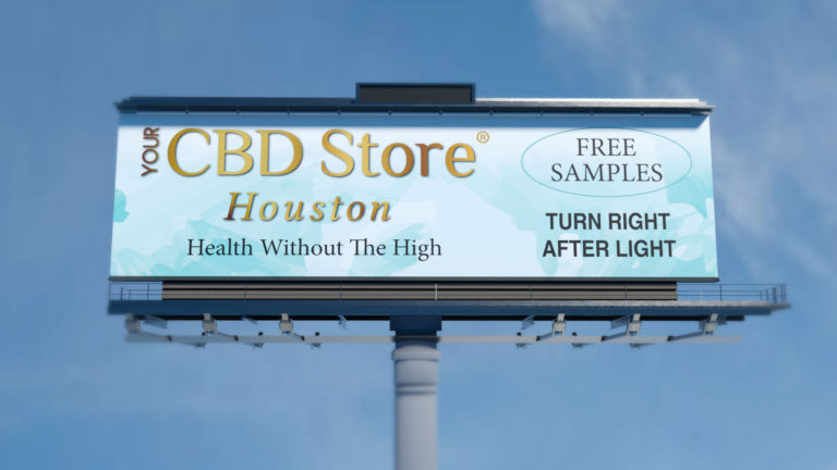 cbd store billboard