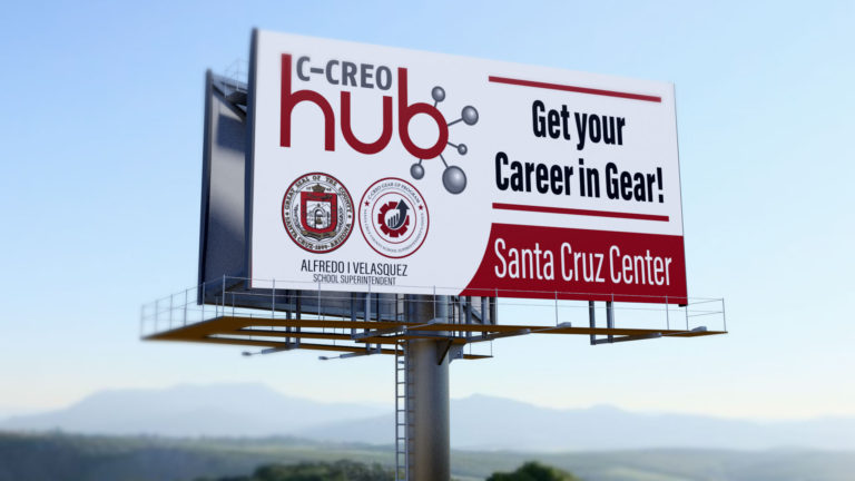 santa cruiz billboard