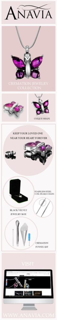 Cremation & Memorial Jewelry by ANAVIA