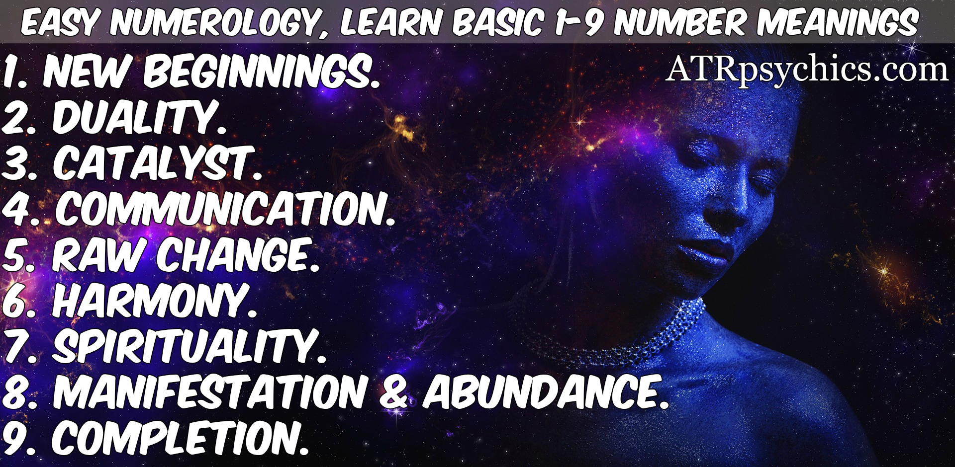 Easy Numerology  Learn Basic 1
