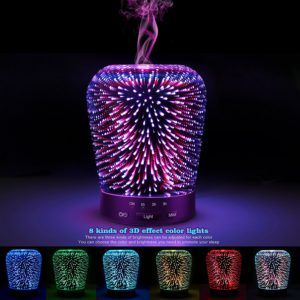 Aromatherapy Oil Diffuser & Color Changing 3D Starburst Dome Humidifier Review