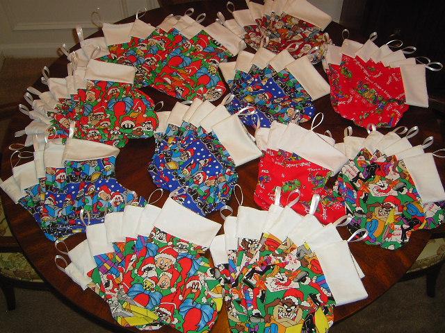 Stockings for Shriner Hospital