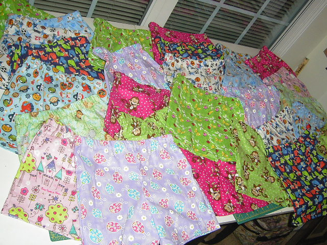 Therapy Shorts for Shriner Hospital