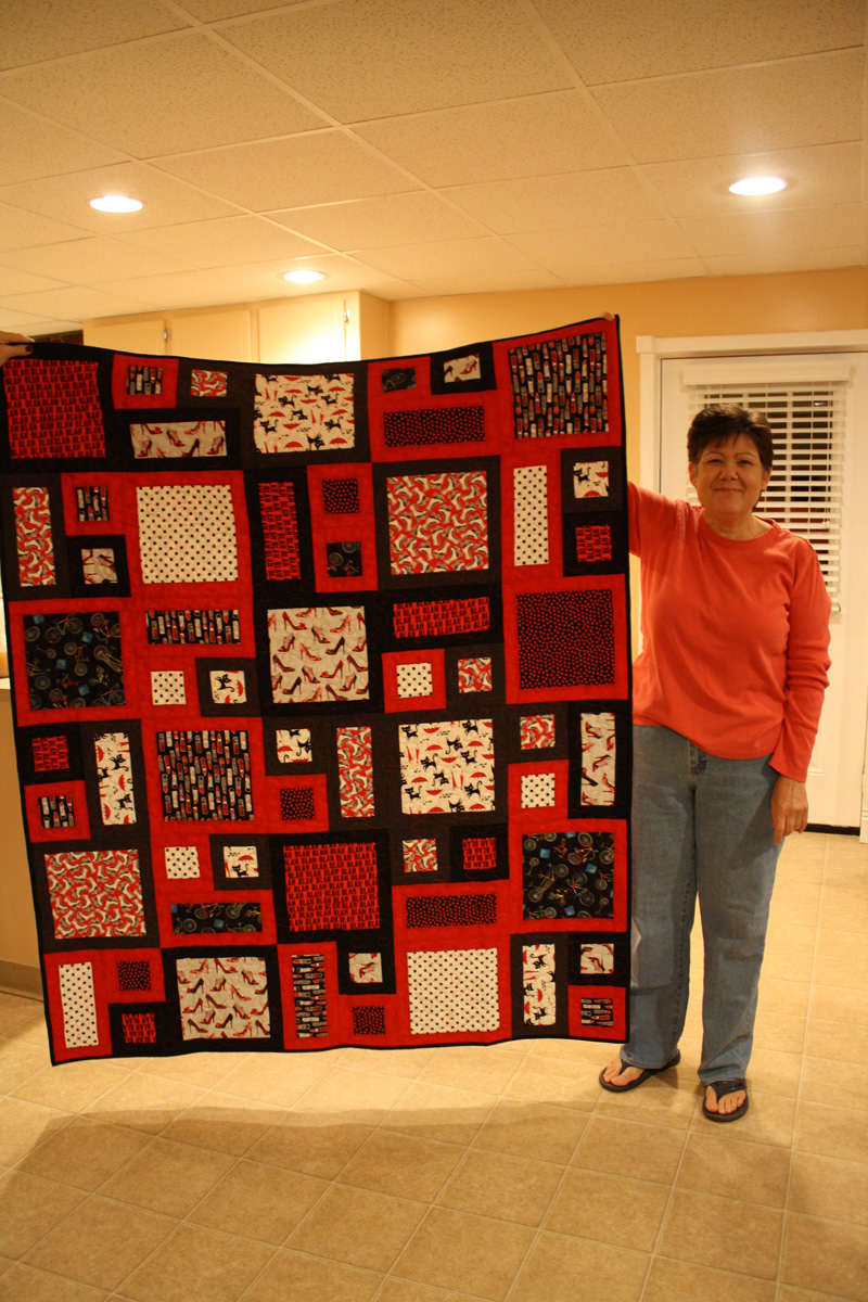 Sewrifics Quilts for Calvary Children's Home