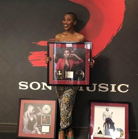 Zonke's L.O.V.E. Album Goes Gold