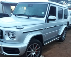 Stolen Mercedes G Wagon Found hidden in the bush close to Mozambique border