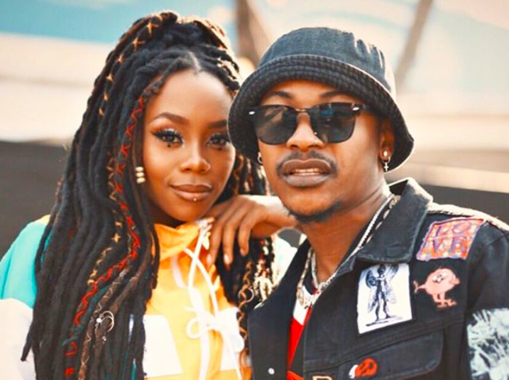 Bontle Modiselle and her rapper husbae Priddy Ugly Share Their Wedding Day Visuals