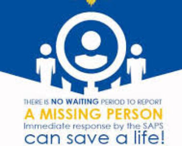 POLOKWANE: Two missing persons a 25-year-old woman, Lenish Mphethi from Shakung village and a 36 year old manTsietsi Mampuru Phasha
