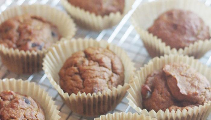Vegan Einkorn Pumpkin Muffins