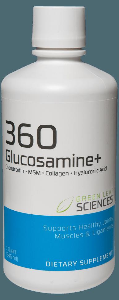 360 Glucosamine Bottle