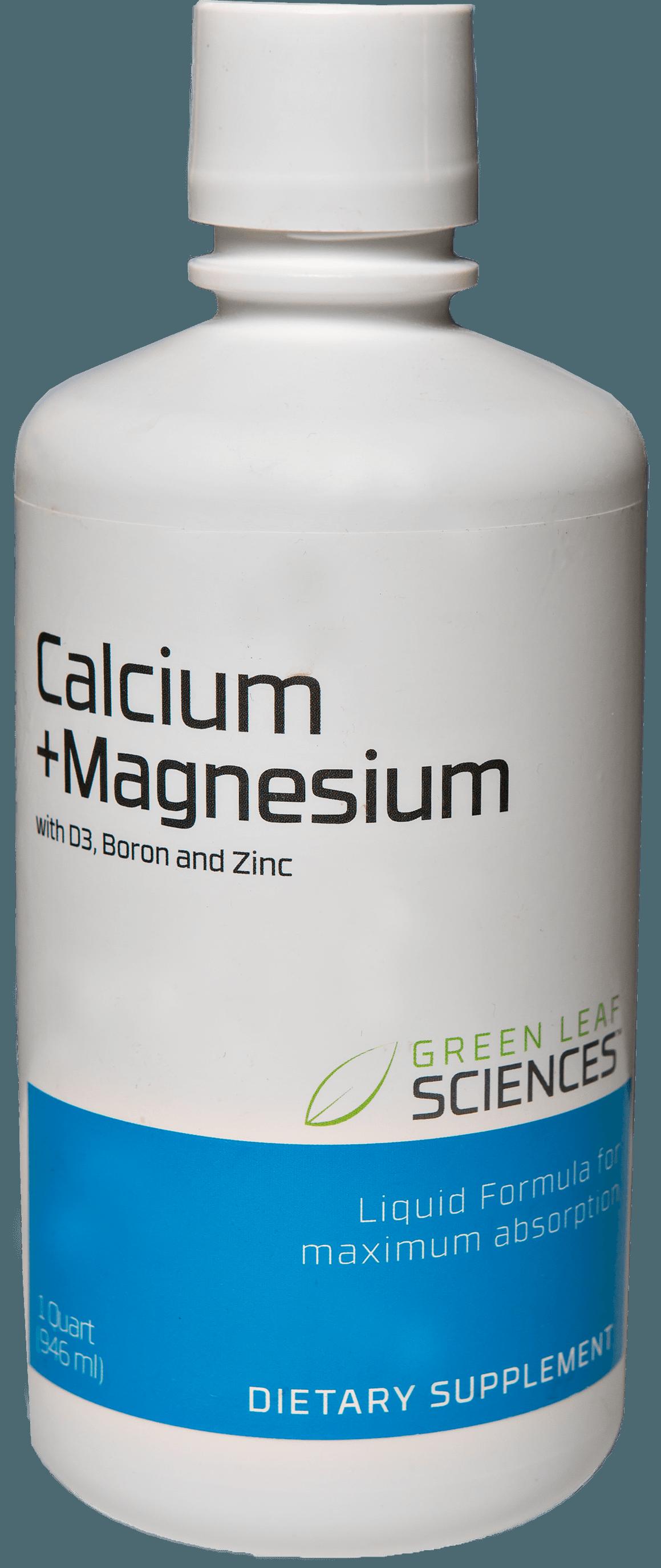 Calcium and Magnesium plus D 3 bottle