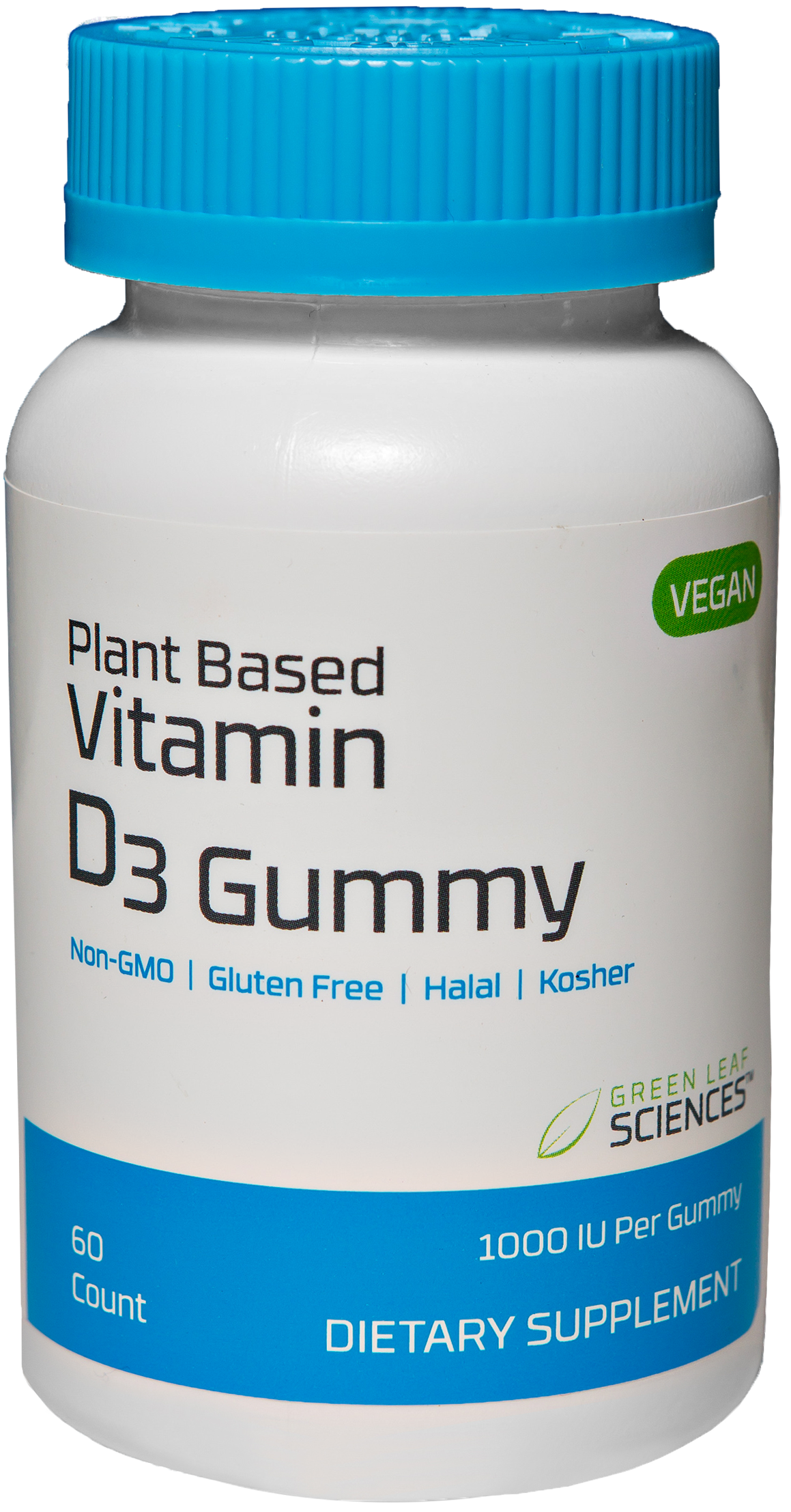 Vitamin D3 Gummy bottle