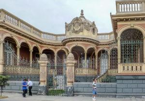 Lima Barranco mansion architecture