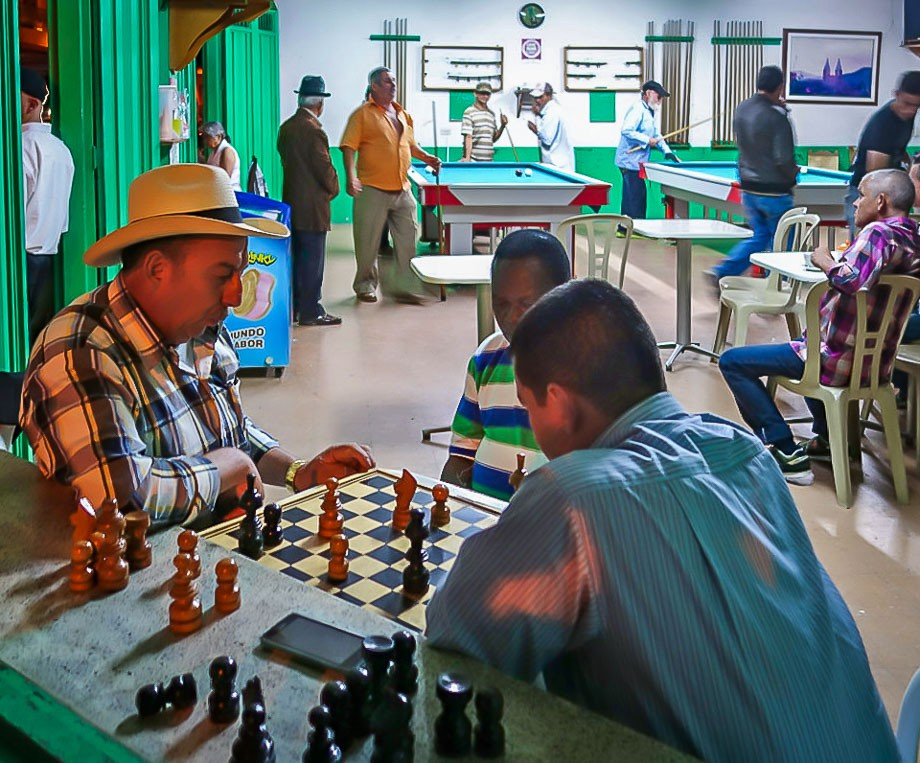 Jardin Colombia chess game